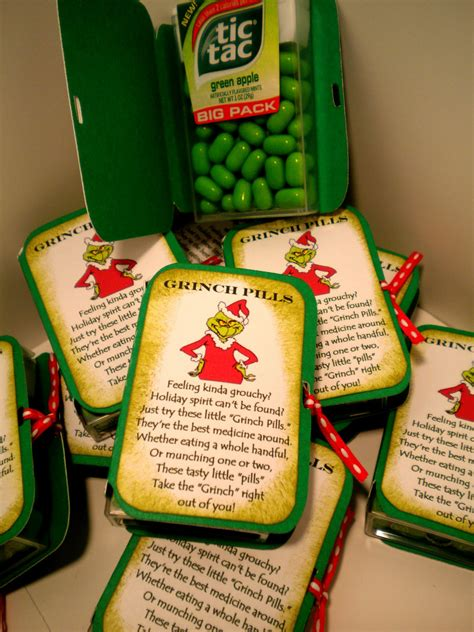 deck the holiday s diy grinch pill holder