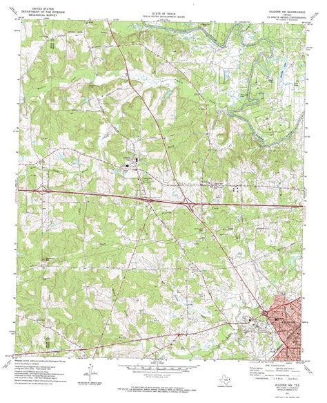 kilgore texas map kilgore nw topographic map tx usgs topo 32094d8