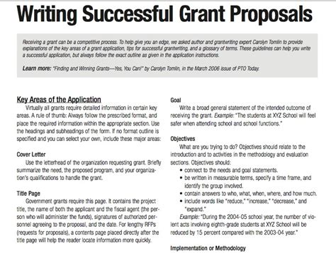 How To Write A Grant Template How To Write Grantswritings And Papers Writings And Papers