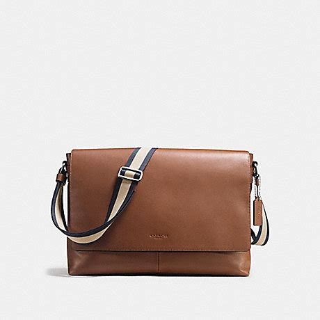 Coach Charles Messenger Saddle 6 coach f54792 charles messenger in smooth leather saddle coach