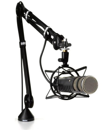 Arm Stand Suspensi Mikrofon Black rode psa1 swivel mount studio microphone boom arm ca musical instruments stage studio