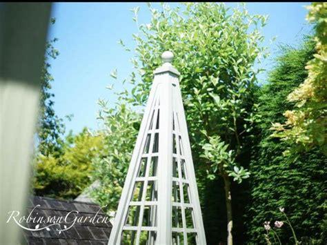 buckingham bespoke wooden trellised garden obelisk