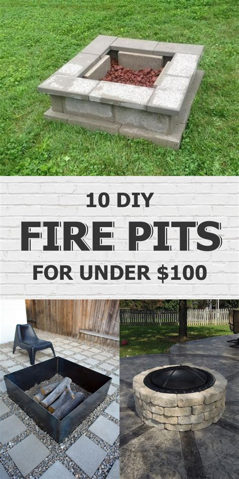 diy pit cheap easy 10 easy diy pits you can make for 100