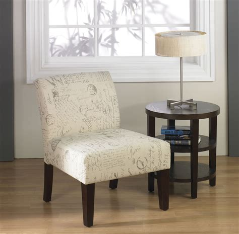 accent chairs for living room bedroom home armless ave six laguna armless living room lounge bedroom side
