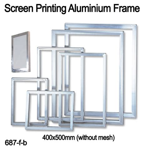how to frame a print screen printing frames aluminum screen printing frames
