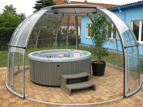 Outdoor Whirlpool Selber Bauen by Tub In The Garden Treat Yourself To This Loading