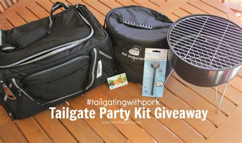 College Football Giveaways - at home college football tailgate party tailgating kit giveaway