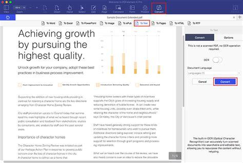 convertir pdf imagenes a pdf texto c 243 mo convertir un archivo pdf a texto en mac