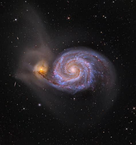whirlpool galaxy in whirlpool galaxy pics about space