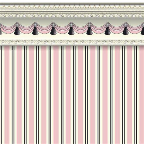 dolls house wallpaper uk the dolls house emporium pink regency stripe wallpaper