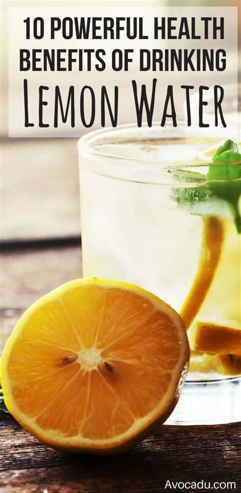Detox Community by The 10 Powerful Health Benefits Of Lemon Water
