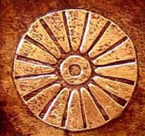 imagenes simbolos guanches pintadera 1 retratando gran canaria