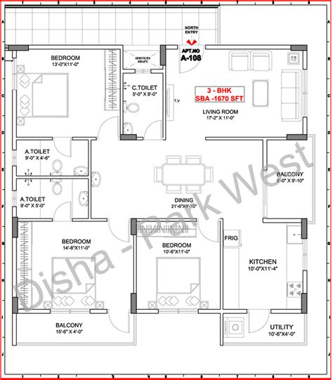 Park West Floor Plan | disha park west in varthur bangalore price location
