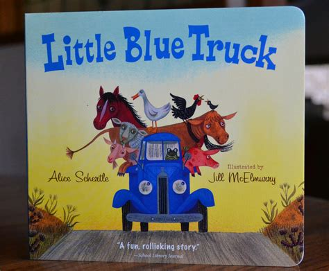 libro little blue truck team frowow five favorites libro edition