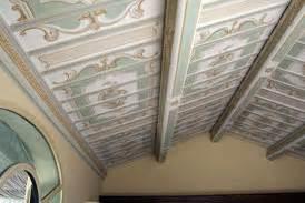soffitti a cassettoni decorati i soffitti e la decorazione ambientale giulio clementi e