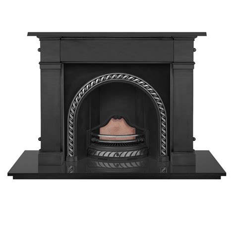 carron somerset 59 quot cast iron fireplace with westminster