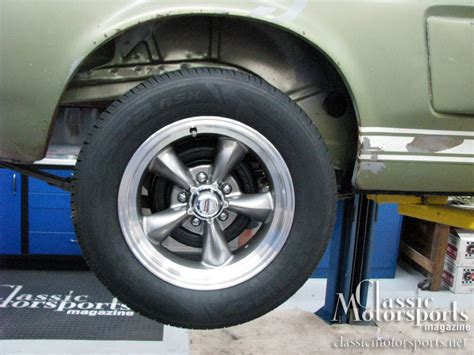 shoeing  shelby shelby gt  project car updates classic motorsports