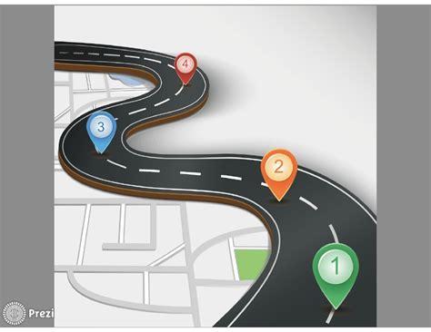 printable road template road prezi premium templates