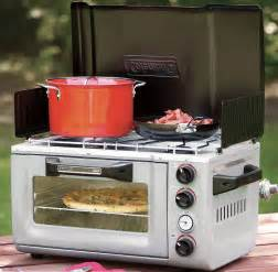 Mini Toaster Oven Uk Pizza Under The Stars Camping Oven Stove Combo Geekologie