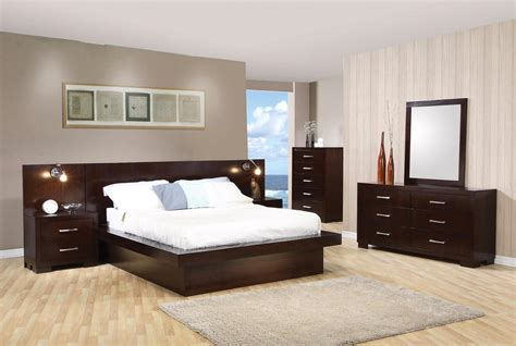 jessica modern platform cappuccino finish bedroom setfree shippingshopfactorydirectcom