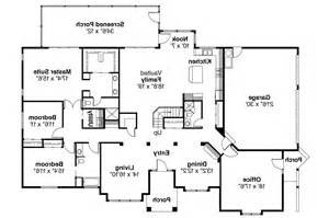 Spanish Style Floor Plans by Spanish Style House Plans Santa Maria 11 033