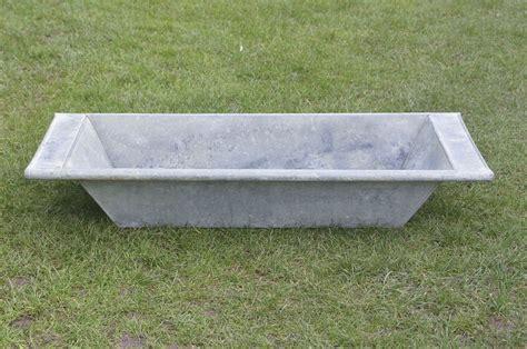 galvanized trough bathtub old vintage galvanized tin bath dog flower tub trough