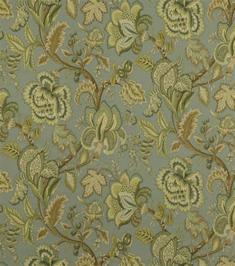 home decor fabric robert allen summerlin seafoam fabric