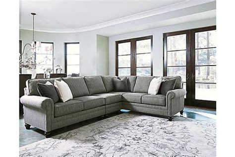 kittredge  piece sectional  ashley furniture