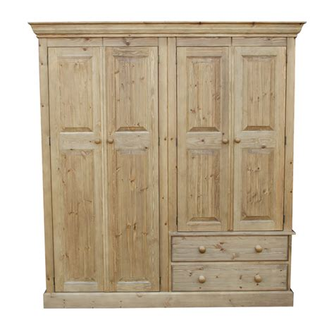 Wardrobe Combinations by Cottage Pine Combination Wardrobe