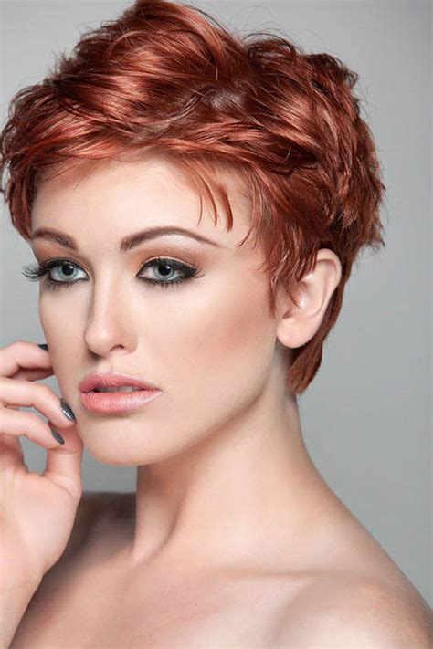 hair cuts with red colour 2015 short copper red hair the latest trends in women s