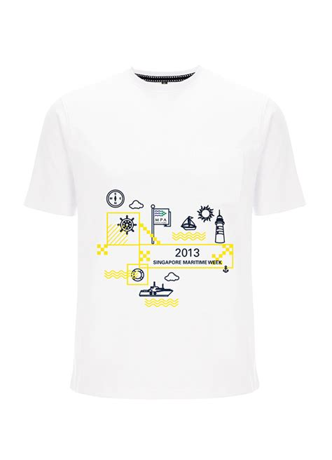 Design A T Shirt Singapore | singapore maritime week 2013 t shirt design on behance