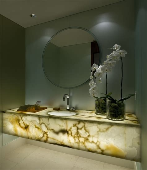 onyx bathroom countertops 1000 images about stone natural onyx on pinterest
