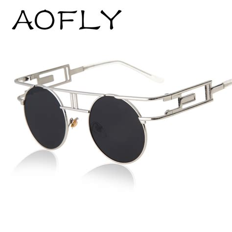 aliexpress glasses aofly fashion metal frame steunk sunglasses women brand