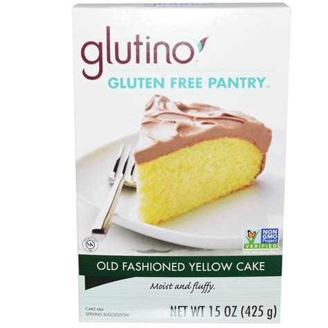 The Gluten Free Pantry by Gluten Free Pantry Fashioned Yellow Cake 15 Oz 425 G Iherb