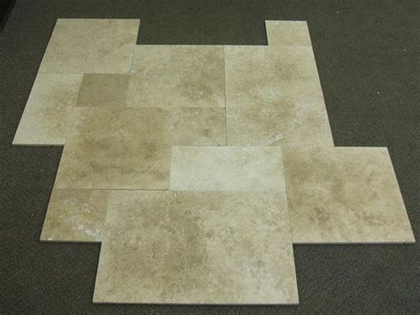 travertine tile mediterranean wall and floor tile by stonelocator