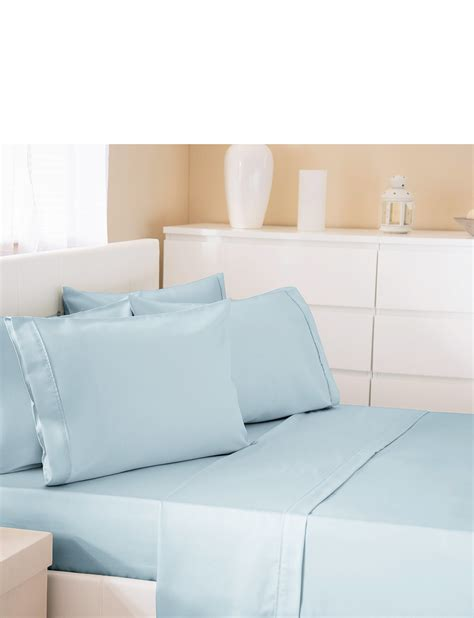 bed linen thread count 300 thread count cotton rich bed linen flat sheet by