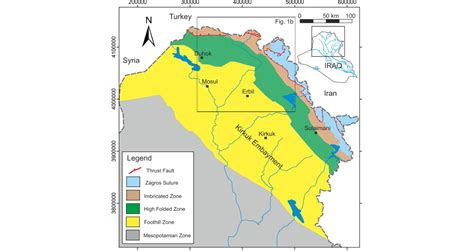 geological map of iraq geo expro iraqi kurdistan it s all in the timing