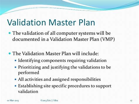 software validation plan template computer system validation