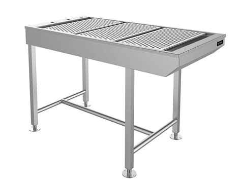 slimline tub table with underframe technik veterinary