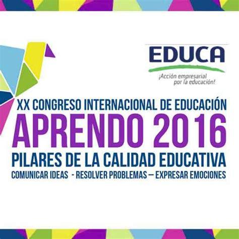 contrato colectivo de educacion 2016 xx congreso internacional de educaci 243 n aprendo 2016