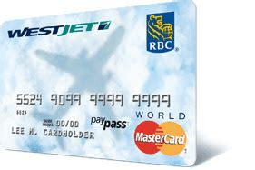 royal bank mastercard westjet westjet