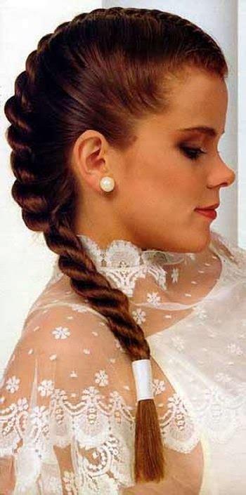 gambar model rambut kepang