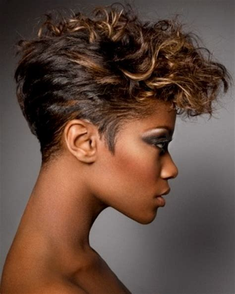 black short haircuts in the top and long in the back short hairstyles for older black women