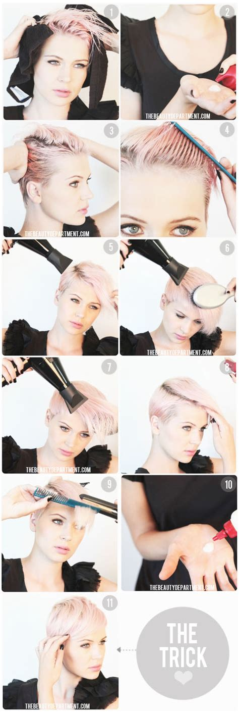 easy step by step instructions for pixie cut tag archive for quot short hair quot the beauty department your