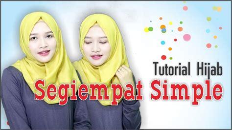 tutorial hijab simpel berkacamata tutorial hijab segiempat saudia simpel untuk acara formal