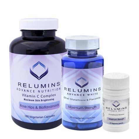 Gluta White Vit C relumins advanced white glutathione vitamin c max