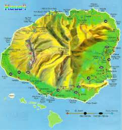 1800 Flowers Store - map of kauai hawaii kauai island hawaii map kauai large maps