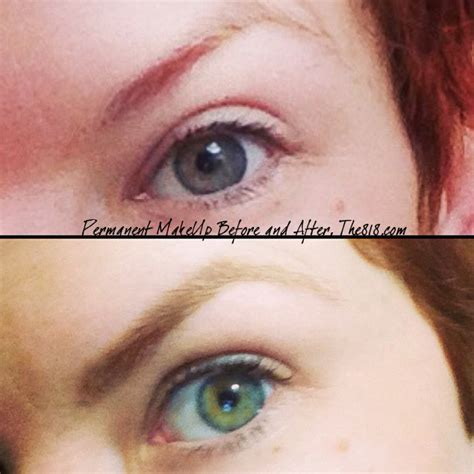 eyeliner tattoo natural permanent makeup before after interesting looks so