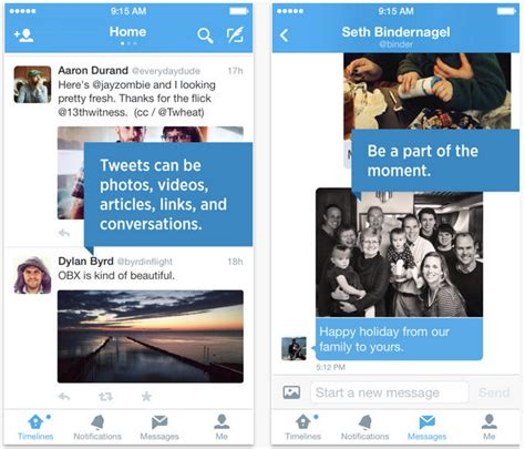 twitter iphone layout twitter for iphone updated to version 6 brings design