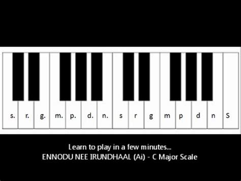 keyboard tutorial malayalam songs ennodu nee irundhaal ai keyboard notes youtube
